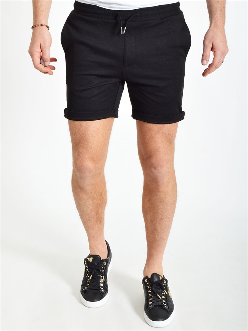 svarta-stretch-shorts-herr