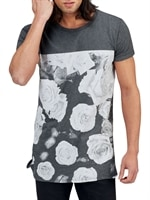 flower-front-tee-dark-grey
