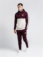 taped-hoodie-burgundy-cream-white-sik-silk